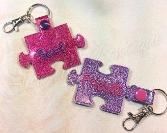 Best Friends 4x4 Key Fob