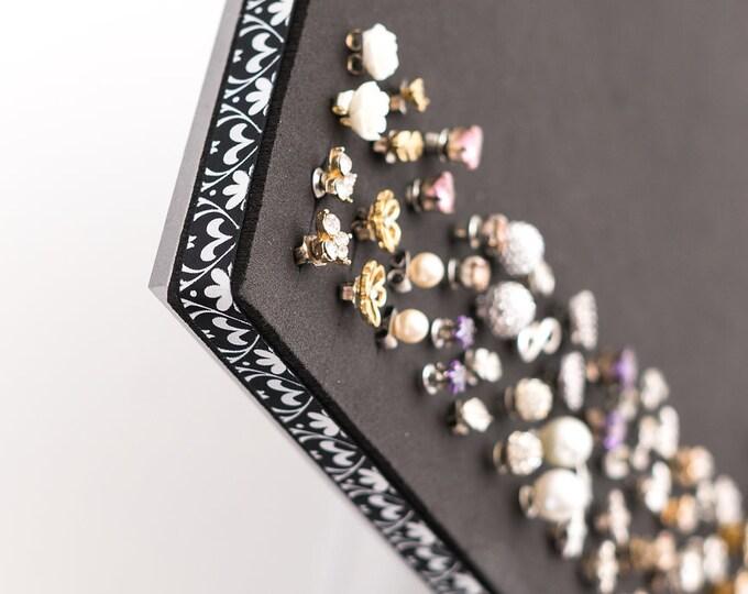 Earring Organizer - 8x10 Size Acrylic Stand - Jewelry Display