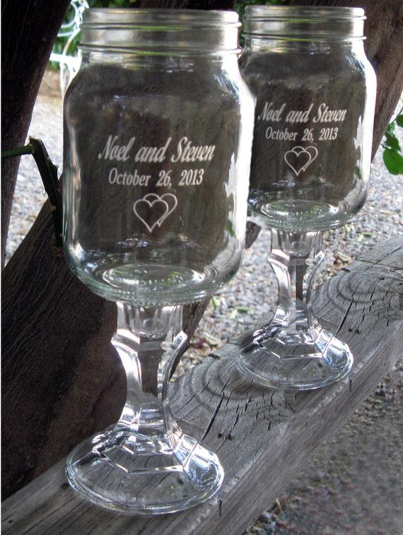 redneck wine glasses 2 engraved 16 oz personalized. Black Bedroom Furniture Sets. Home Design Ideas
