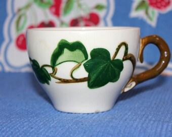 Metlox Pottery Poppytrail pattern cup