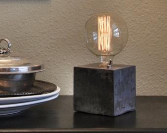 Desk Lamp - Concrete Lamp