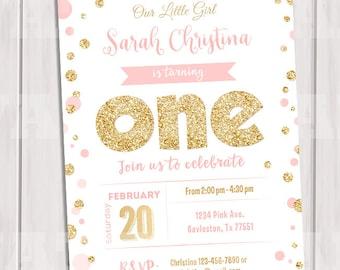 Polka Dot Invitation Etsy