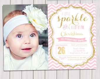 1st birthday invitations etsy