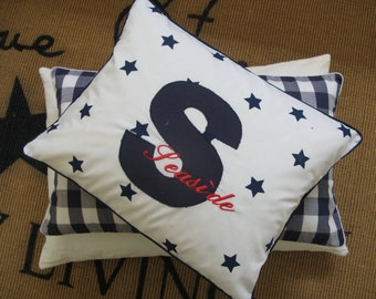 Pillow/cushion Hamptons style, personalized