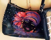 Hand Painted custom design leather purses bags choose from my designs my purses or use yours Shoulder Bag purses totes
