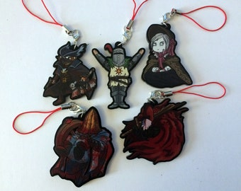 Bloodborne Dark Souls Charms 5cm Cute Hunter Solaire