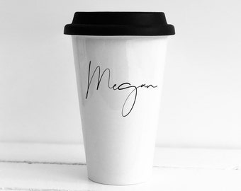 Custom travel mugs | Etsy