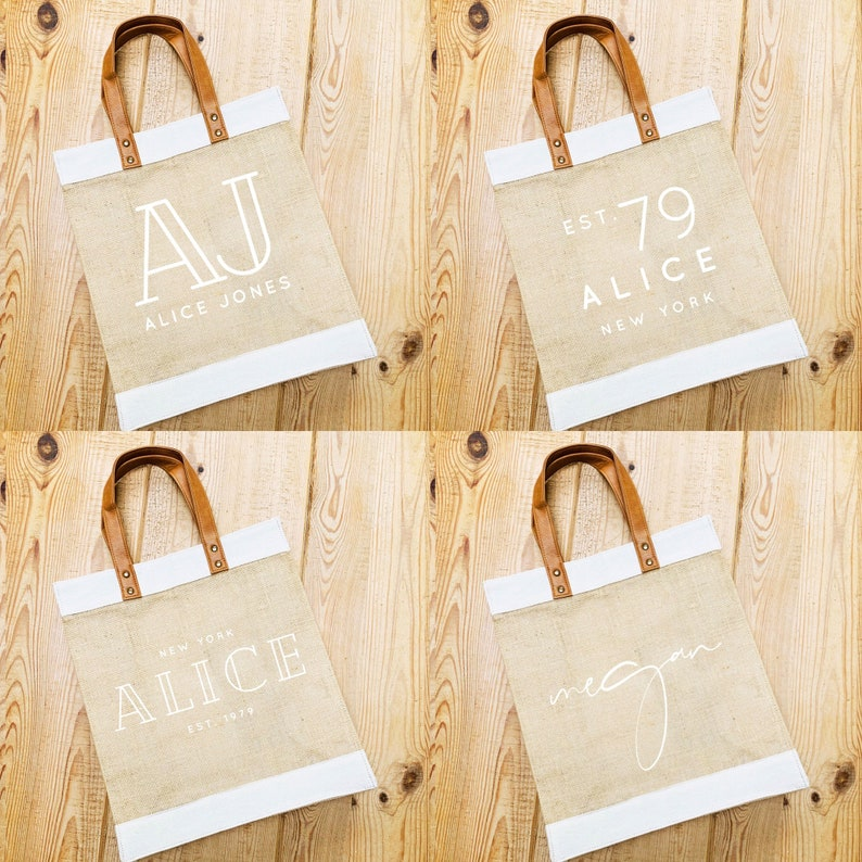 Personalised Bag  Personalised Shopping Bag  Gift ideas for image 0