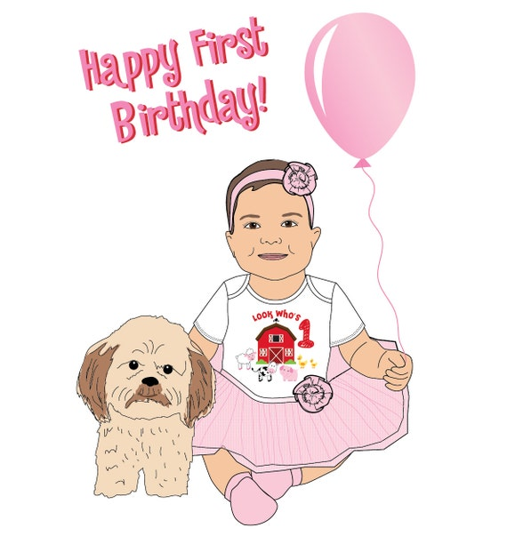 Custom Made Birthday Card For Your Child Mommy Me Etsy