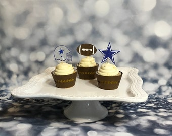 2ab8c259 Super bowl cupcake   Etsy