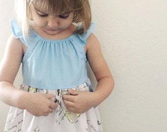 Disney Princess dress - light blue Cinderella disney dress, disney dress, princess dress, Snow White, belle beauty and the beast