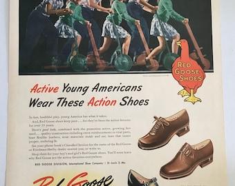 1c6596cf73079 Retro shoe ads | Etsy