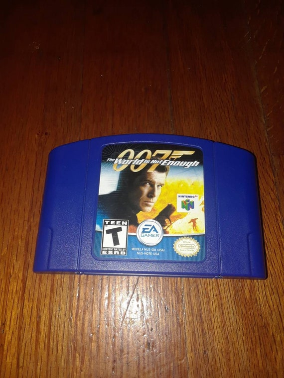 2 Nintendo 64 Games 007 The World Is Not Enough Banjo Etsy