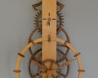 Ascent Wooden Gear Clock Kit