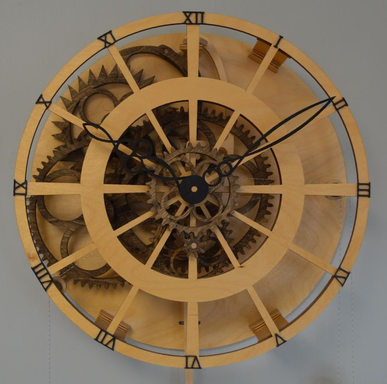 Legacy Wooden Clock Kit