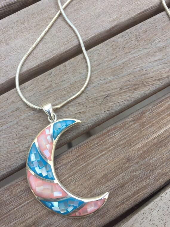 Vintage jewelry-vintage silver moon-vintage charm… - image 6