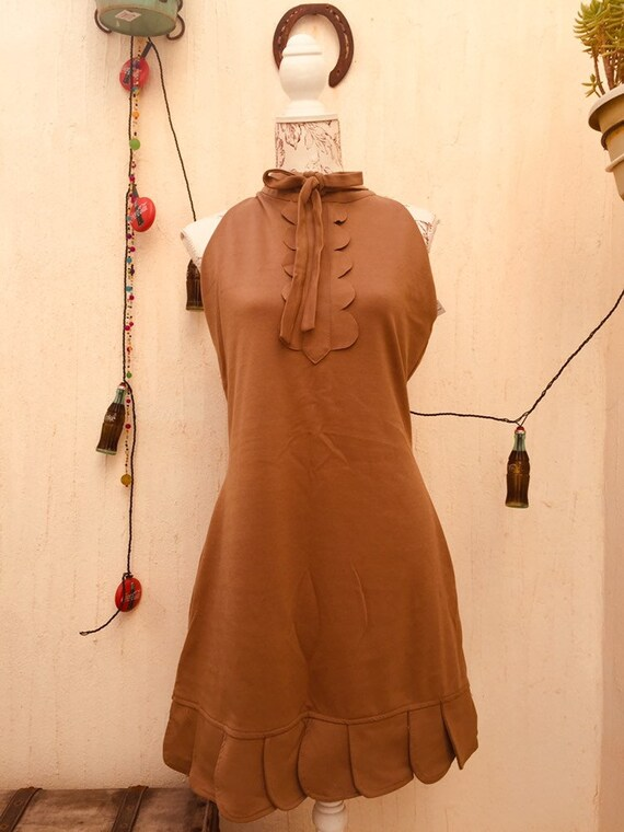 Vintage dress-vintage overall-vintage retro-vinta… - image 4