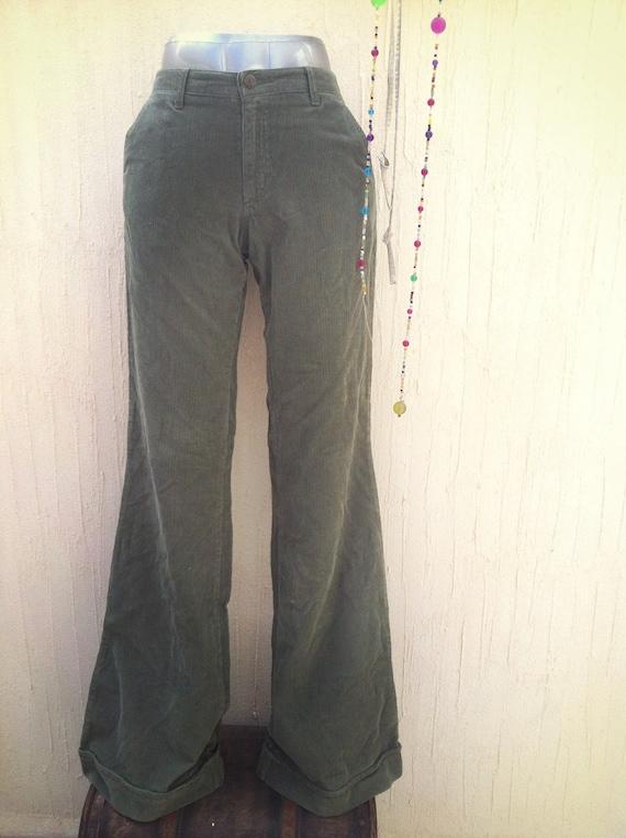 Vintage pants-vintage bell bottoms-bell bottom-cor