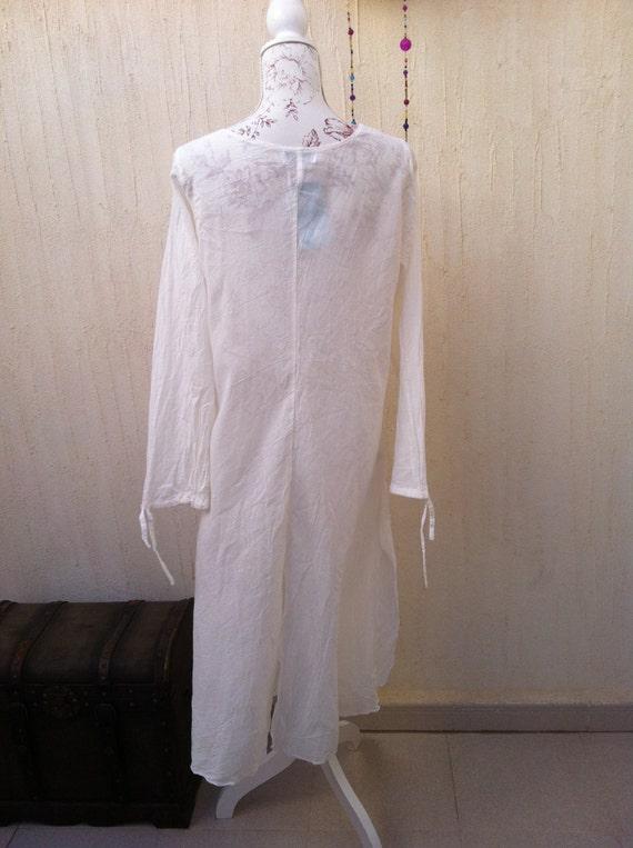Vintage boho dress - vintage sun dress- vintage b… - image 3