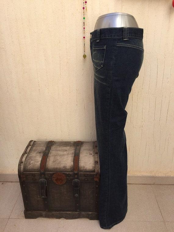 Vintage bell bottom jeans-vintage jeans-vintage p… - image 5