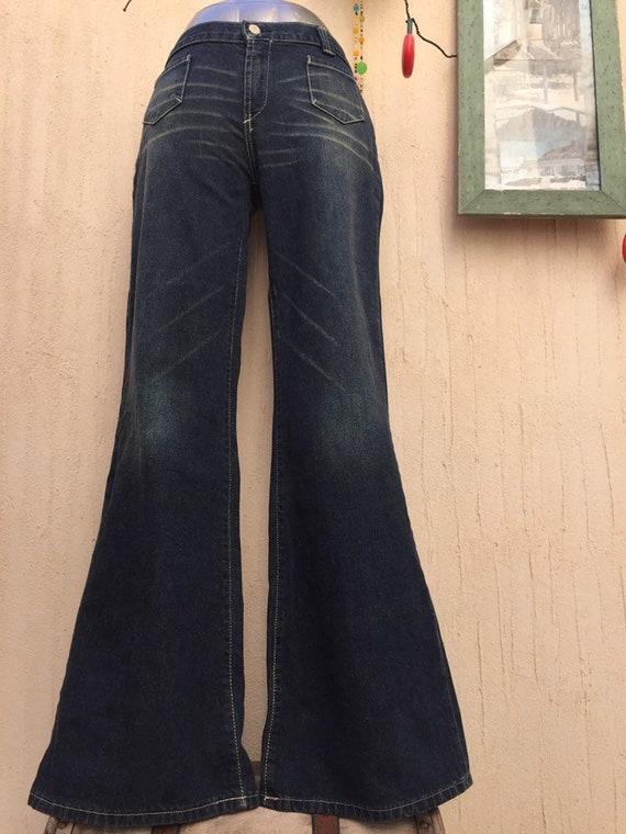 Vintage bell bottom jeans-vintage jeans-vintage pa