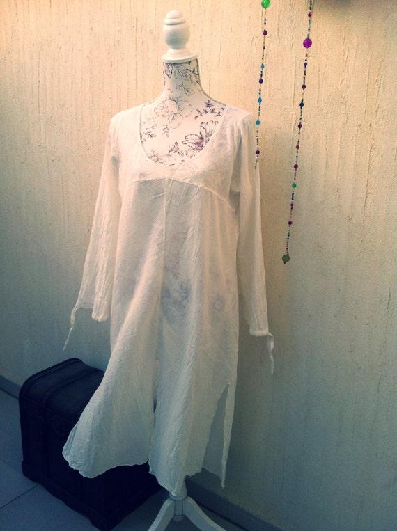 Vintage boho dress - vintage sun dress- vintage b… - image 5