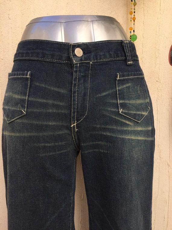 Vintage bell bottom jeans-vintage jeans-vintage p… - image 8