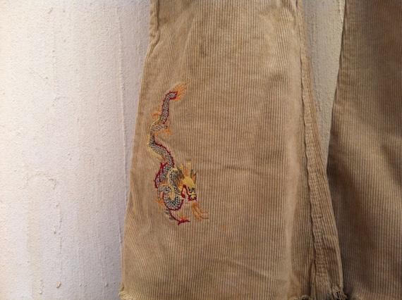 Vintage bell bottom pants-vintage pants-vintage br
