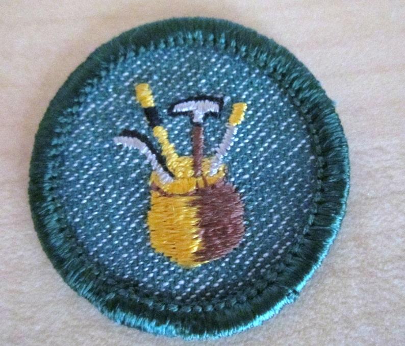 Intermediate Girl Scout Badge Dabbler circa 1950/'s