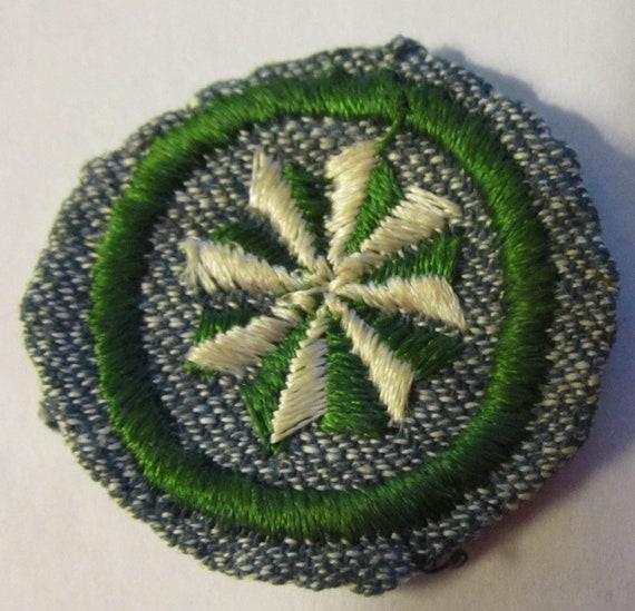 "Vintage Intermediate Girl Scout Badge ""Junior Citi"