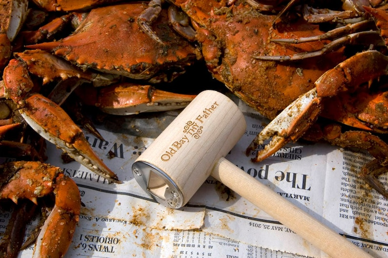 Old Bay Thy Father Crab Mallet Bottle Opener  Stocking image 0