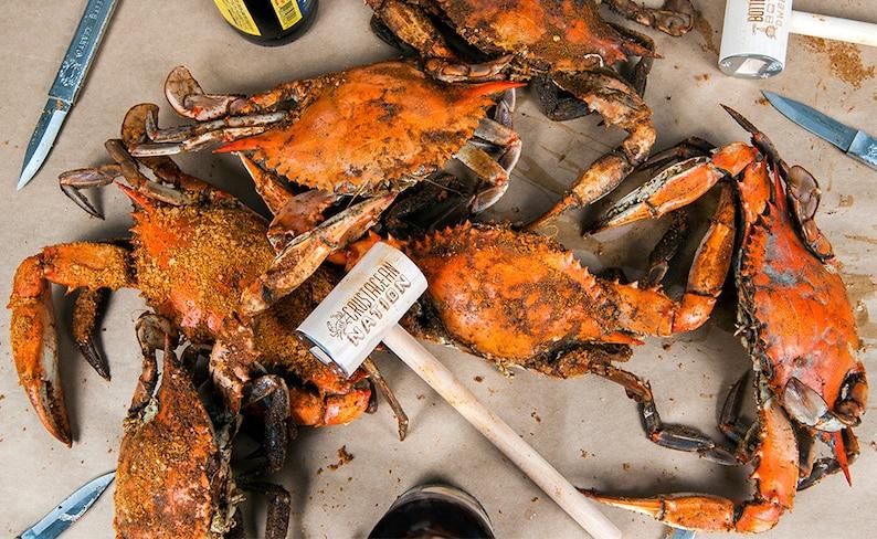 Maryland Crabs & Beer Limited Editon Crustacean Nation Crab image 0