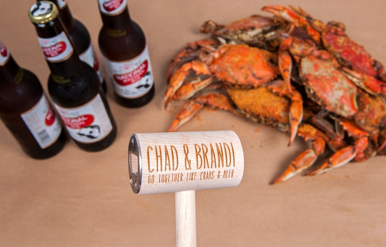 For Couples Who Go Together Like Crabs and Beer: 4 image 0