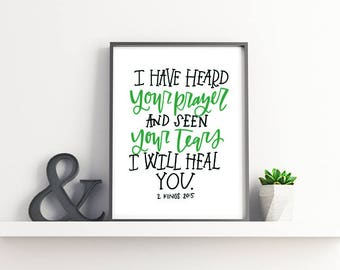 Verse of Healing - Art Print