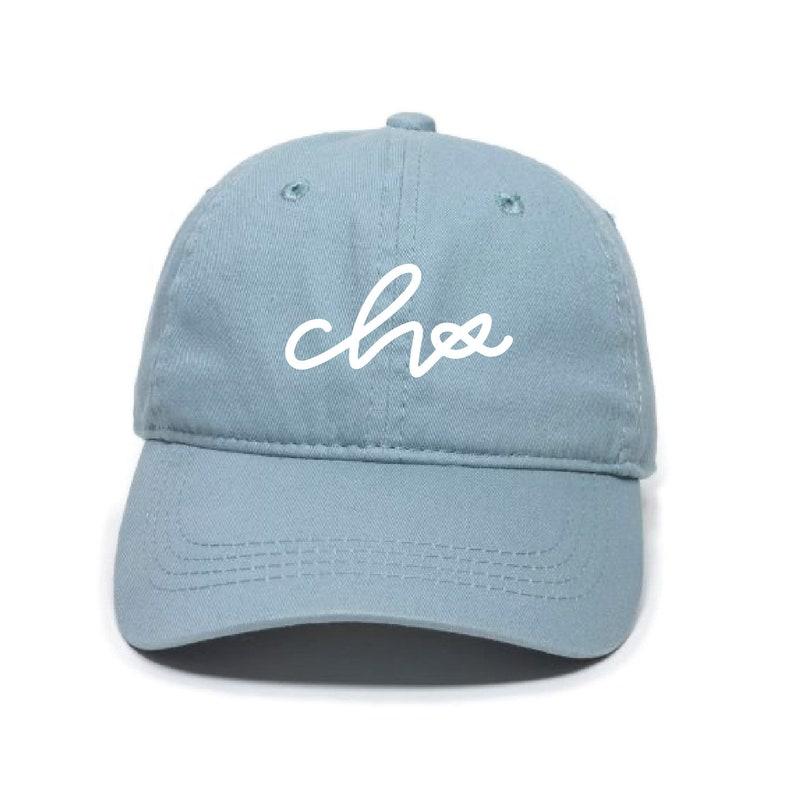 CHS Handlettered Dad Hat  7 Color Options Charleston South Carolina Hand Lettered Embroidered Hat