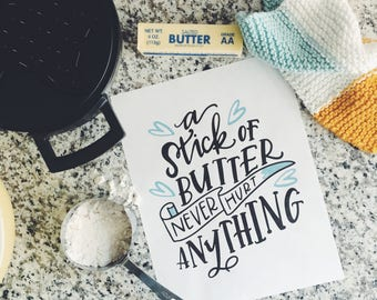 Stick of Butter 8x10 Art Print
