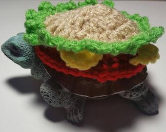 Cheeseburger Costume for Turtles/ Tortoises (Please Provide Measurements)