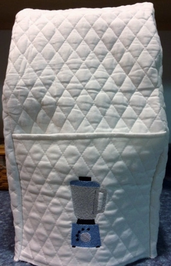 Black or color choice Quilted Fabric Full Size VitaMix Cover NEW
