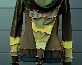 Custom made pixie hoodie inspired by katwise