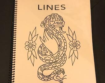 Lines book (reissue)
