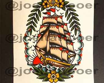 Original Ship Painting (1 of 1)