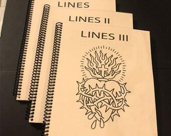 Lines Book Series Vol. I - III