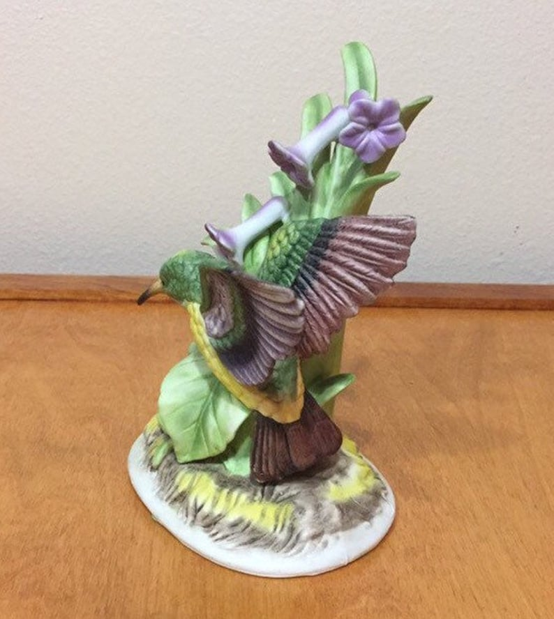 Royal Crown Hummingbird Figurine