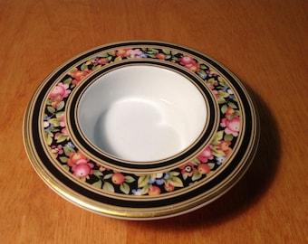 Small Wedgwood China Dish, Clio Design Trinket Bowl Ring Holder