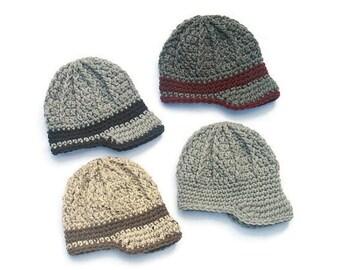 Chapeau nouveau-né garçon, casquette Gavroche pour nouveau-né, chapeau bébé  garçon, bord nouveau-né, nouveau-né Photo Prop, cadeau de naissance, cadeau  bébé ... b8d827ca116