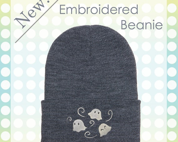 Little Ghosties Beanie Hat