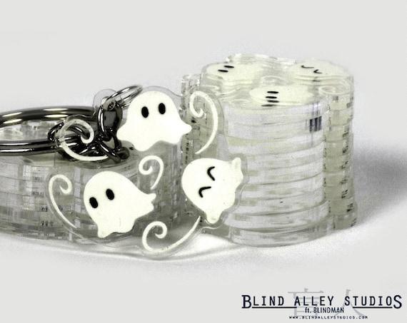 Ghosties Acrylic Keychain