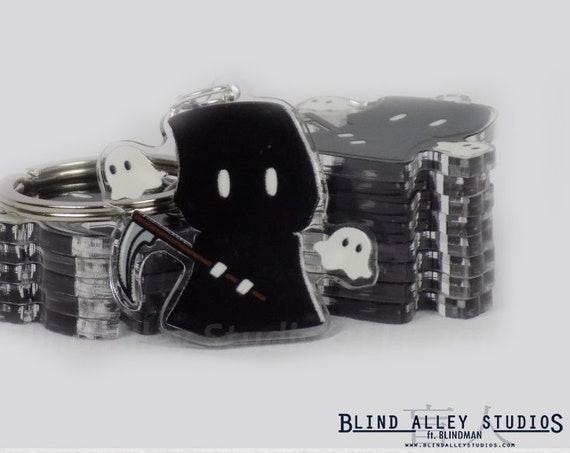 Grim Reaper Acrylic Keychain