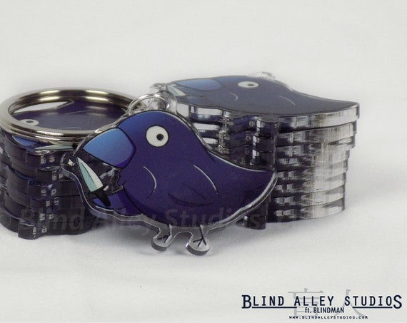 Murder Crow Acrylic Keychain