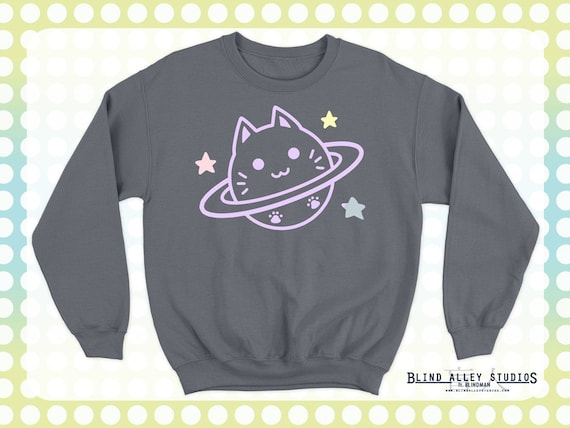 Cat Planet (Caturn) Sweater [SPECIAL ORDER]